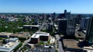 Austin Texas Aerial Sunny Day time video