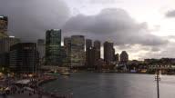 Australia Cityscape Sunset : Time Lapse video