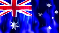 Australia Flag Animation video