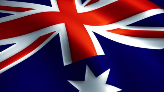 Australia Flag Near video