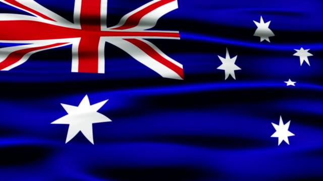 Australia Flag video