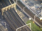Australia: Melbourne Commuter Train from Above video