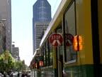 Australia: Melbourne Tram Stopped video