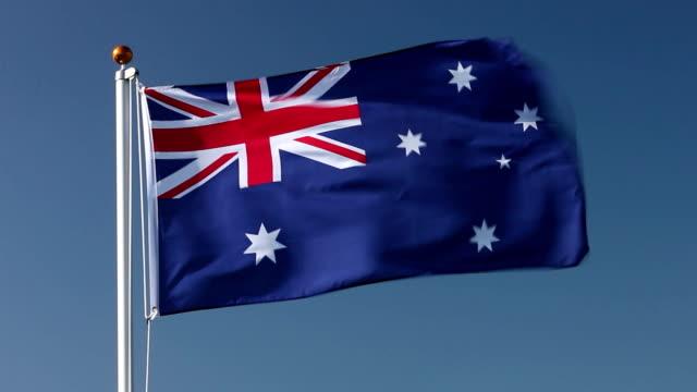 Australia national flag video