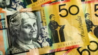 Australian 50 Dollar Notes video