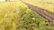 Australian Country Railway Aerial video