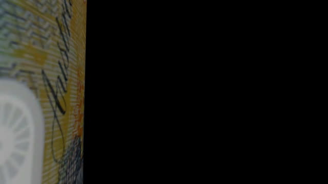 Australian Dollar banknote Transition video