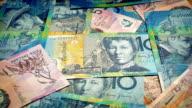Australian Dollars Rotating video