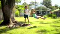 DOLLY: Australian family in authentic house video