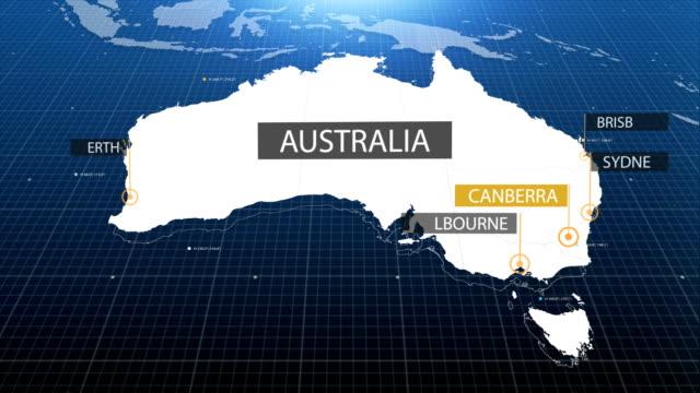 Australian map video