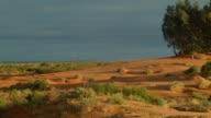 Australia's red center Sand dune desert outback landscape video