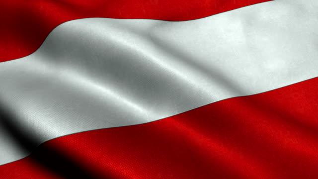 Austria Flag video