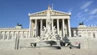 Austrian Parliament in Vienna video