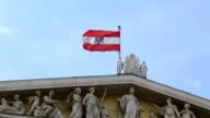 Austrian parliament Vienna video