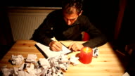 Author Tries To Write But He is Unsuccessfull video