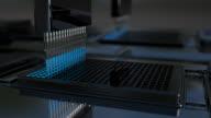 Expériences chimiques dispositif automatisé - Vidéo