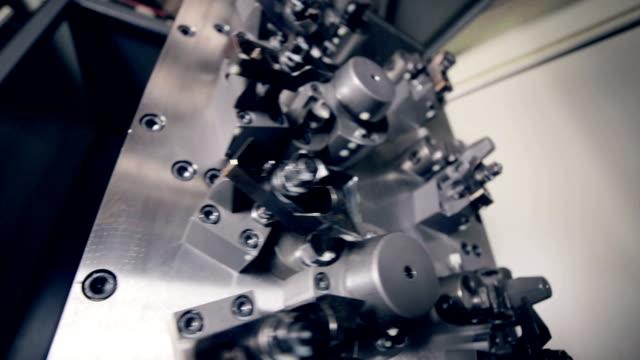 Automated CNC machine video