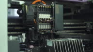 Automated Electronics Parts Manufacturing Line video