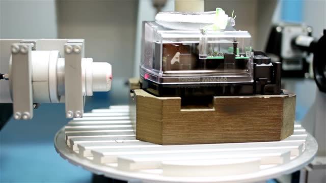 Automatic laser plastic welding video