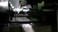 Automatic lathe video