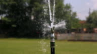Automatic Lawn Sprinkler - Montage video