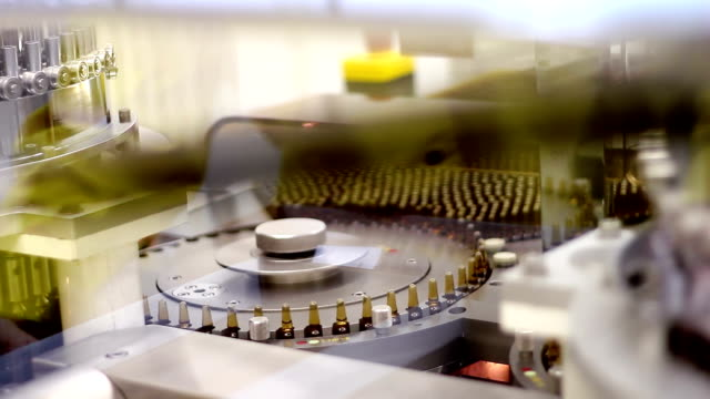 Automatic Production of Medicines in Ampoules video