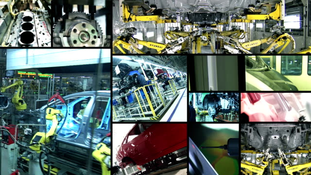 Automotive Industry Collage video