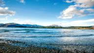 Autumn at Lake Wanaka, New Zealand. video