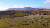 Autumn countryside pan view,Northern Ireland video