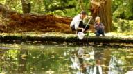 autumn fishing video