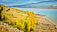 Autumn river video