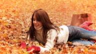 Autumn Shopping Woman video