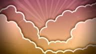 Autumn Sky Animation video
