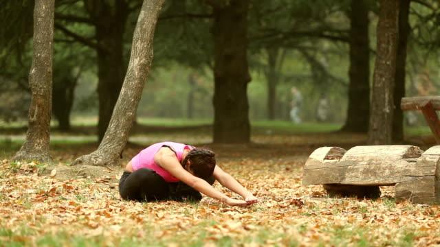 Autumn stretching video