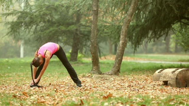 Autumn stretching video