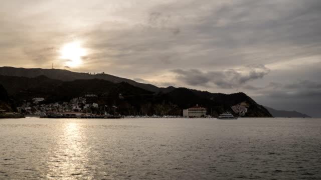 Avalon, Santa Catalina Island Time Lapse video