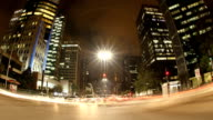 Avenida Paulista at night video