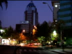Avenue Night Timelapse video