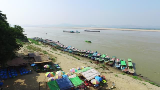 Ayeyarwady River in Bagan video