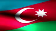 Azerbaijan charming flag video