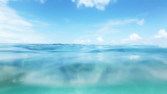 Azure ocean video
