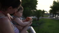 Baby and the apple video