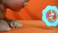 baby and toy video