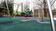 Baby at the Playground Glidecam video