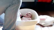 Baby Bath Time video