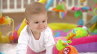 HD: Baby Crawling And Exploring video