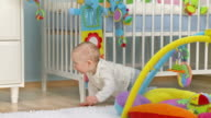 HD DOLLY: Baby Crawling And Exploring video