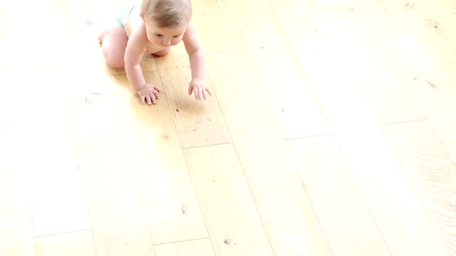 Baby Crawling video