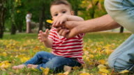Baby Discovering Nature video