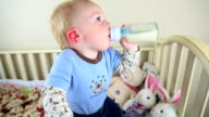 Baby Drinking Bottle video